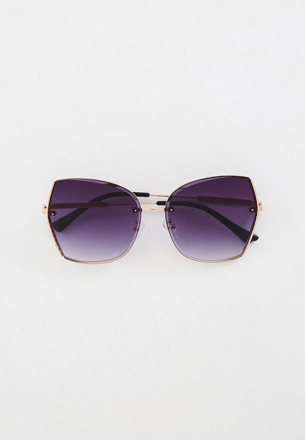 женские солнцезащитные очки mon mua, серебряные