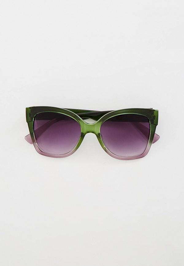 женские солнцезащитные очки кошачьи глаза mon mua, разноцветные