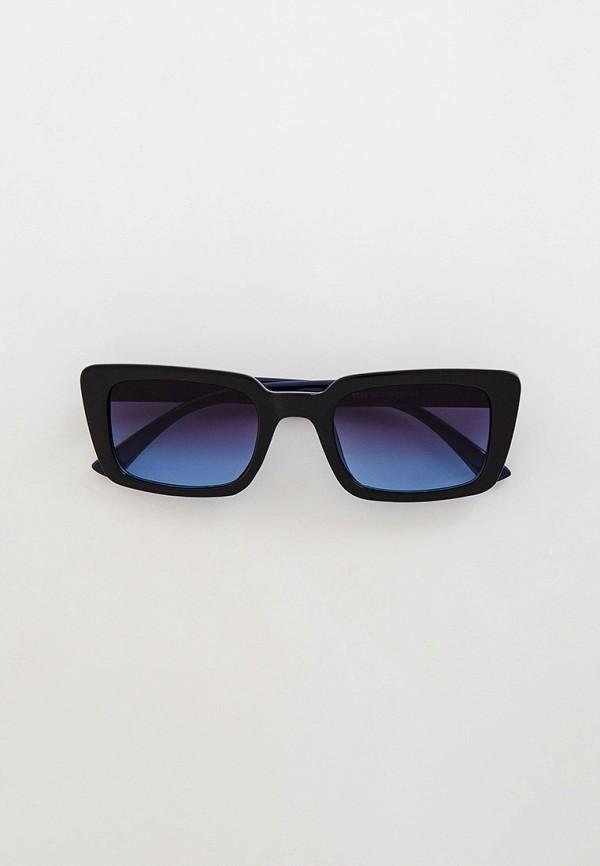 женские квадратные солнцезащитные очки mon mua, синие