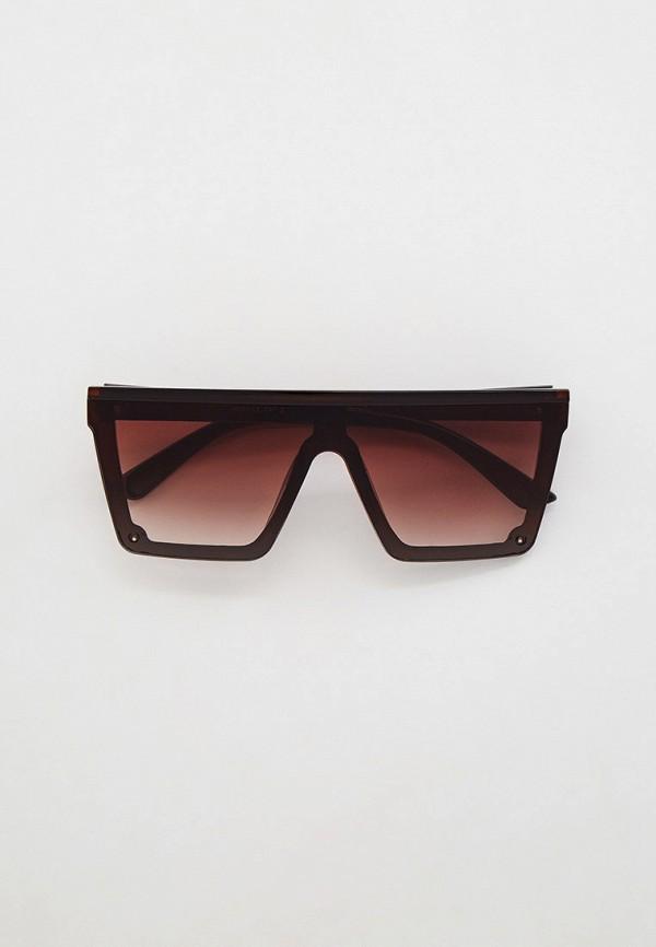 женские авиаторы солнцезащитные очки mon mua, коричневые