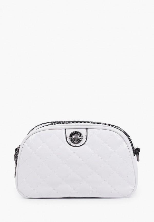женская сумка через плечо артми, белая