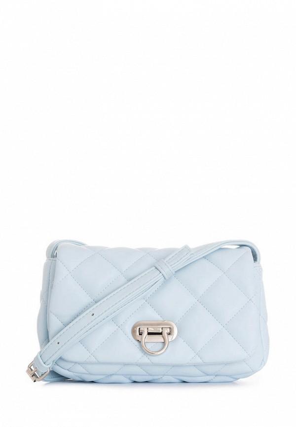 женская сумка через плечо antan, голубая
