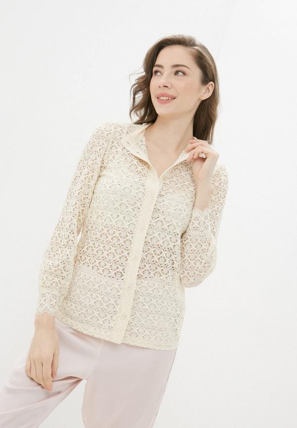 женская блузка intimissimi, бежевая
