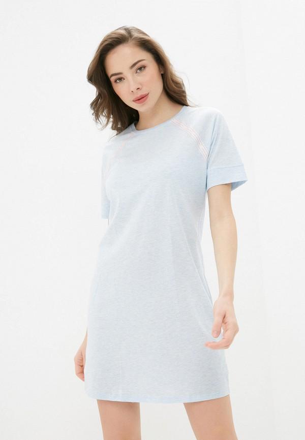 женское платье intimissimi, голубое