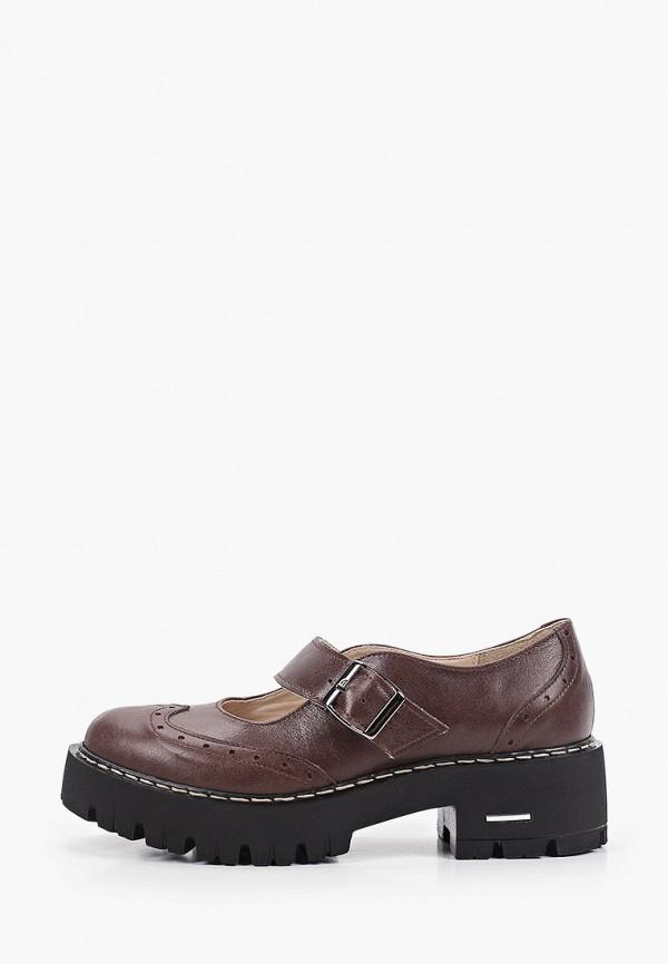 женские туфли pauli, коричневые