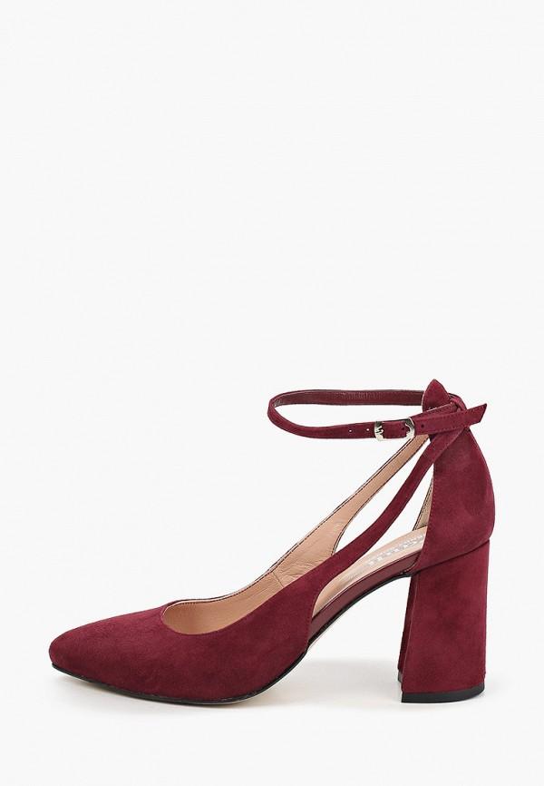 женские туфли pauli, бордовые