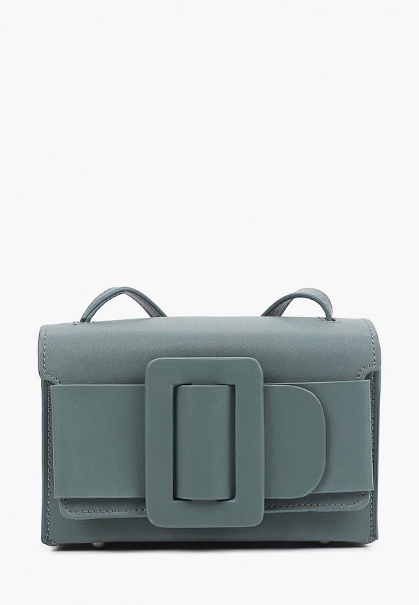 женская сумка через плечо mironpan, бирюзовая