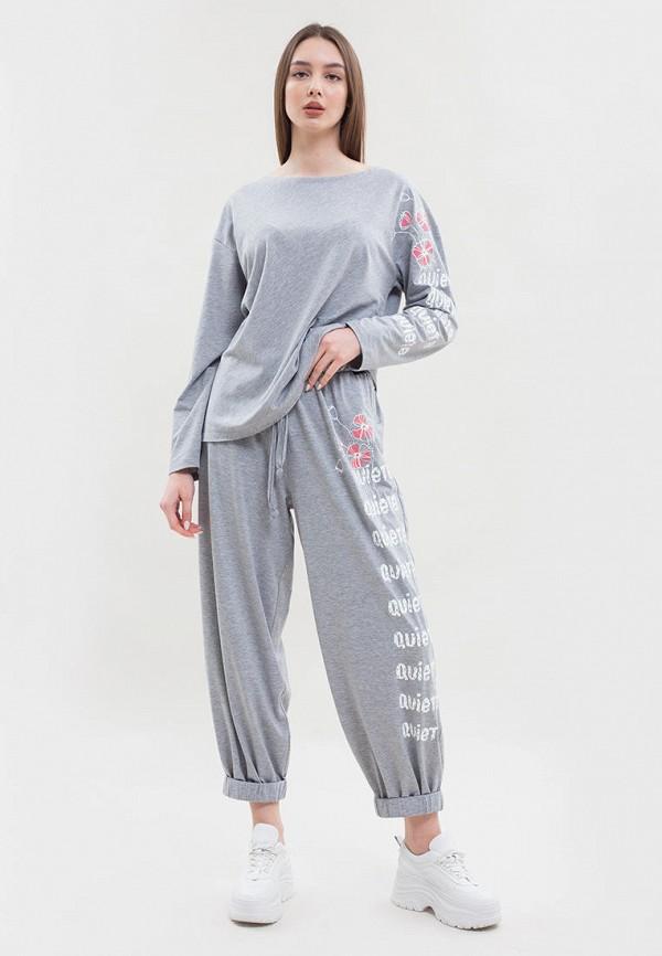 женский спортивный костюм maxa, серый