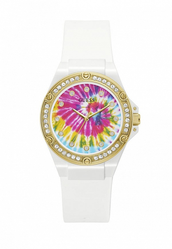 женские часы guess, белые