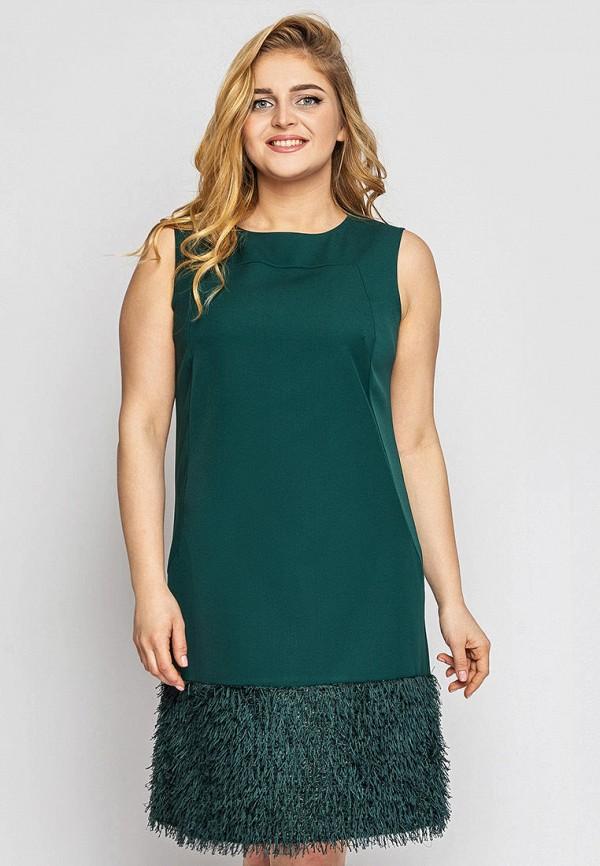 женское вечерние платье vlavi, зеленое