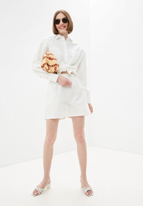 женский костюм euros style, белый