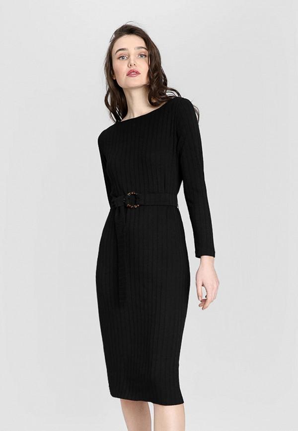 женское платье o'stin, черное