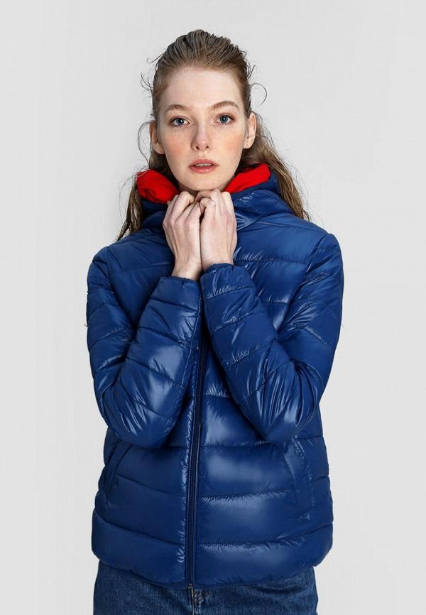 женская куртка o'stin, синяя