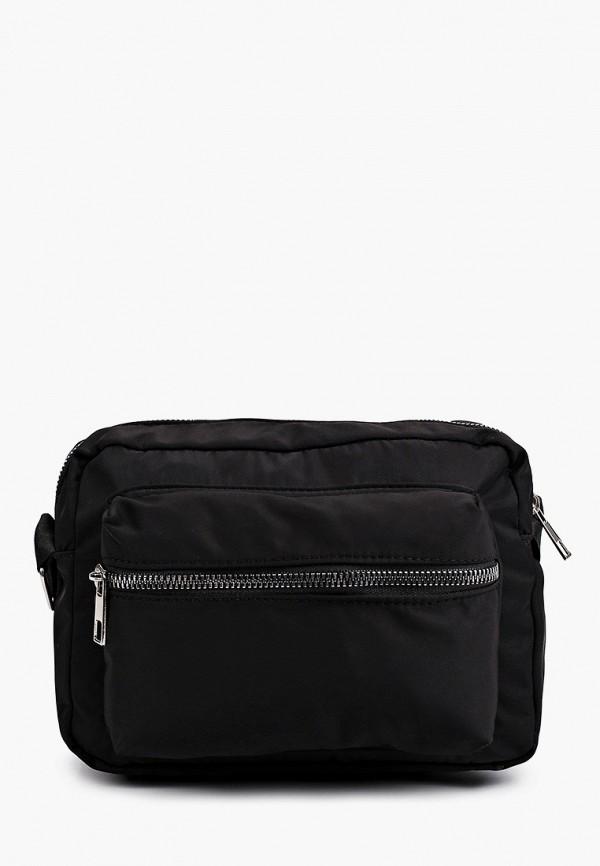 женская сумка через плечо defacto, черная