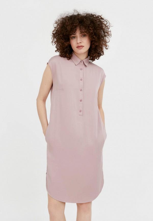 Платье Finn Flare розового цвета