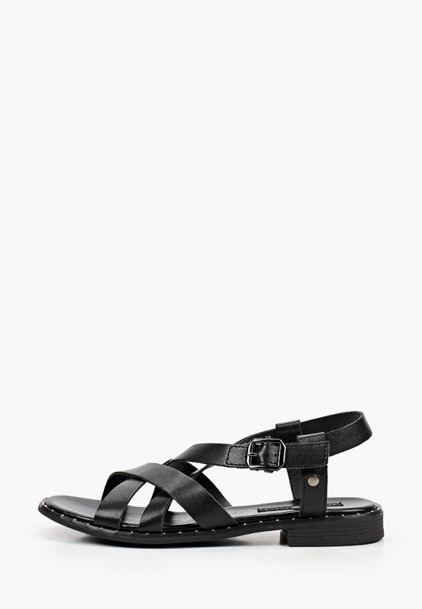 женские сандалии o-live naturalle, черные