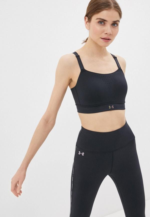 женский спортивный костюм under armour, черный