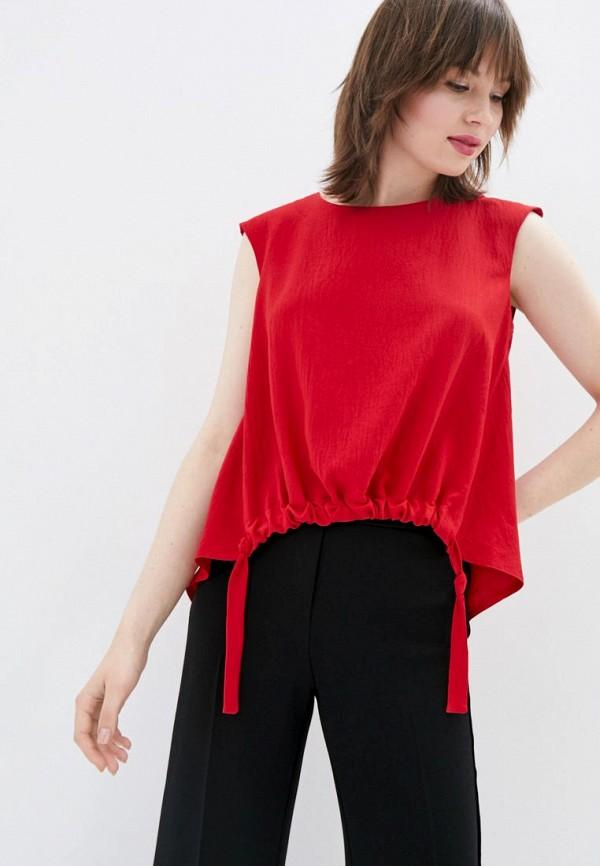 женская блузка sfn, красная