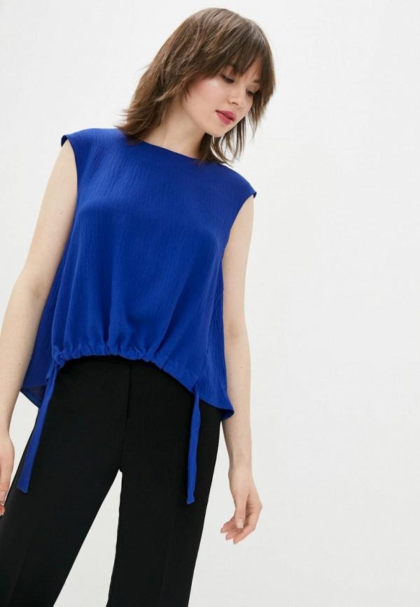 женская блузка sfn, синяя