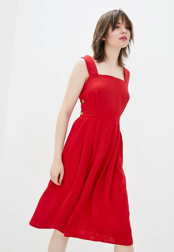женский сарафан sfn, красный