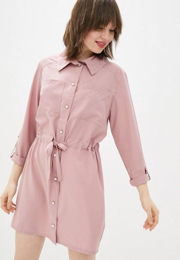 женское платье sfn, розовое
