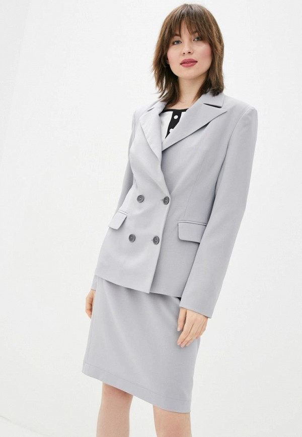 женский костюм sfn, серый