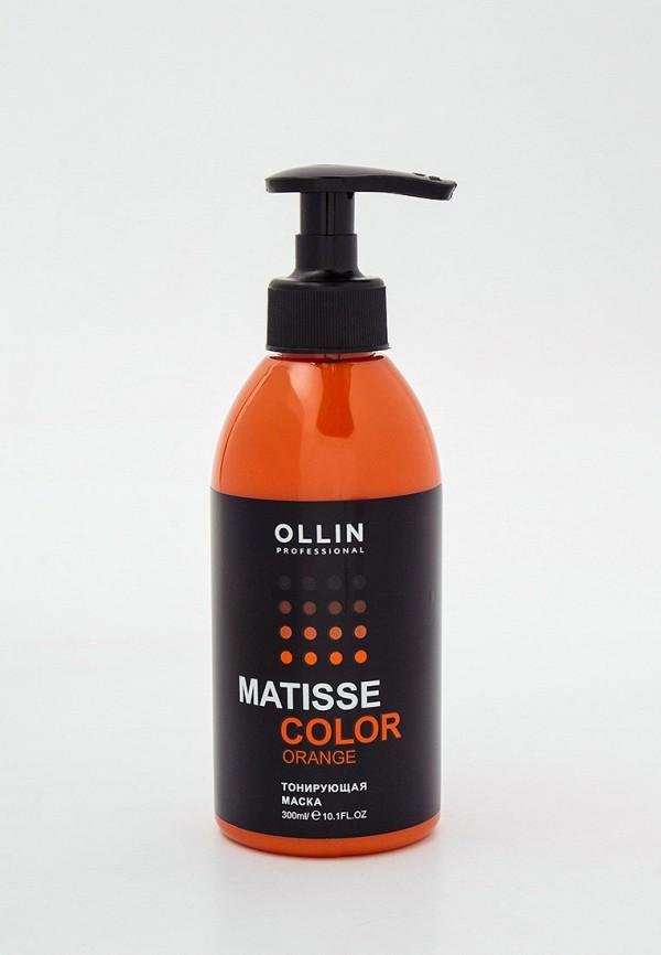 женский краска для волос ollin, оранжевый
