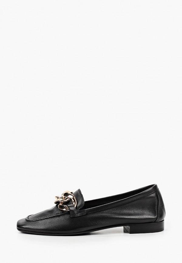 женские лоферы grand style, черные