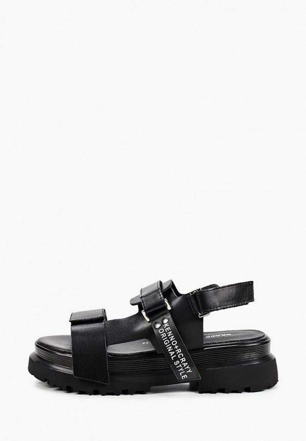 женские босоножки grand style, черные