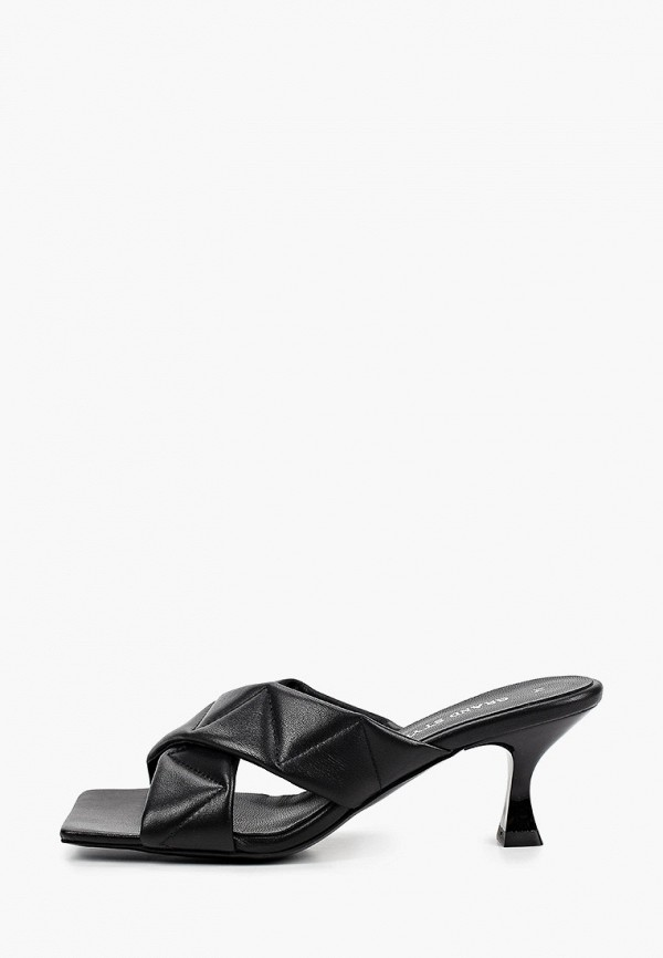 женское сабо grand style, черное