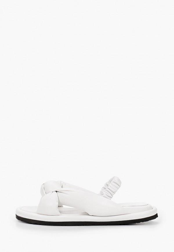 женские сандалии grand style, белые
