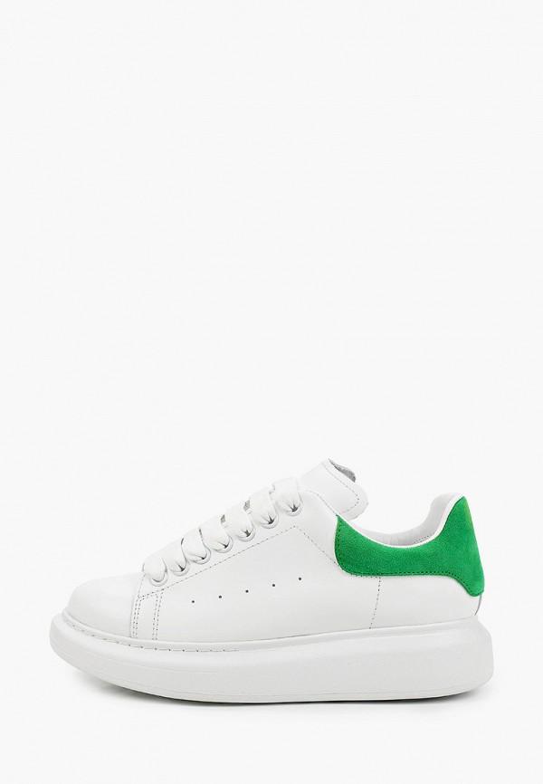 женские низкие кроссовки grand style, белые