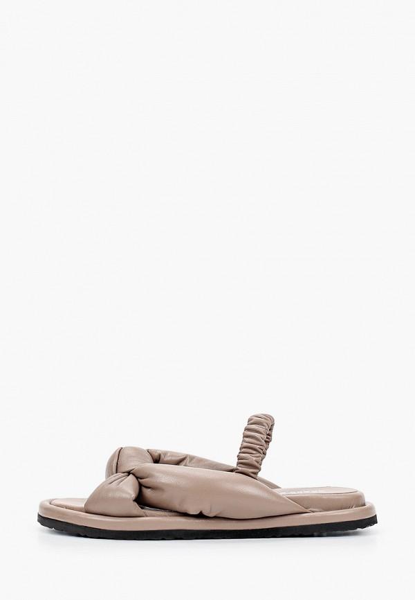 женские сандалии grand style, бежевые