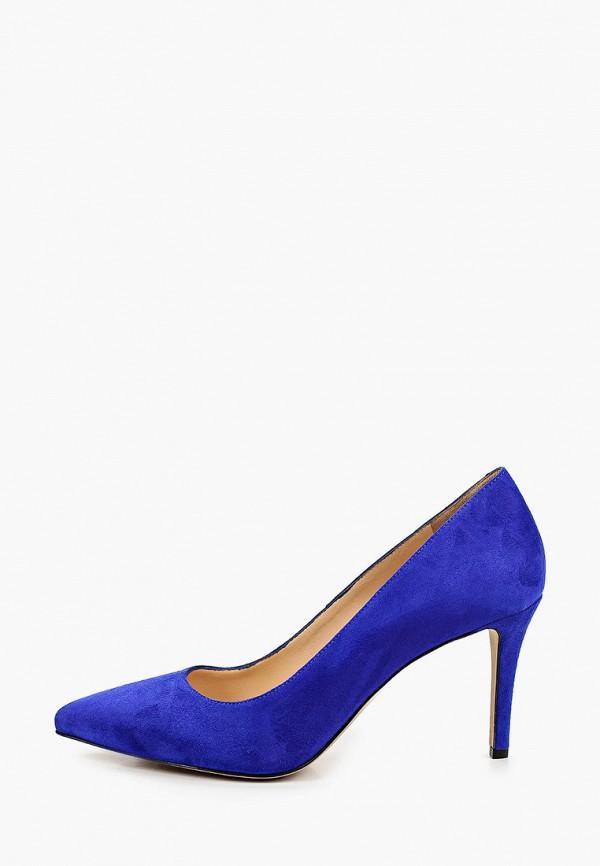 женские туфли-лодочки emanuele gelmetti, синие