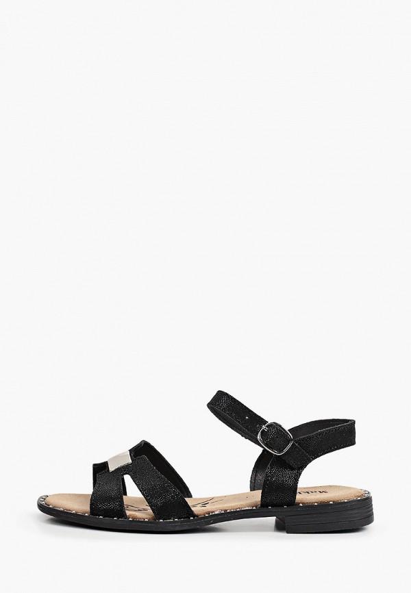 женские сандалии makfine, черные