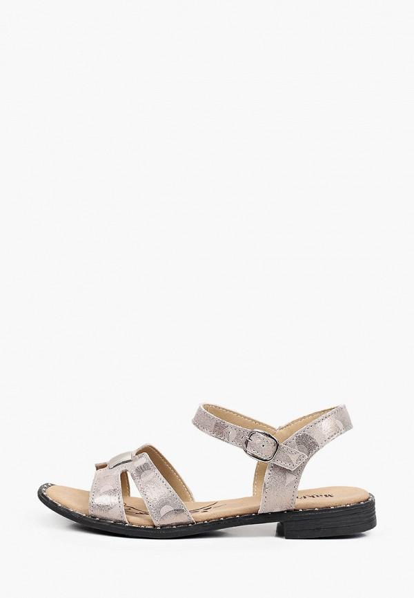 женские сандалии makfine, серебряные