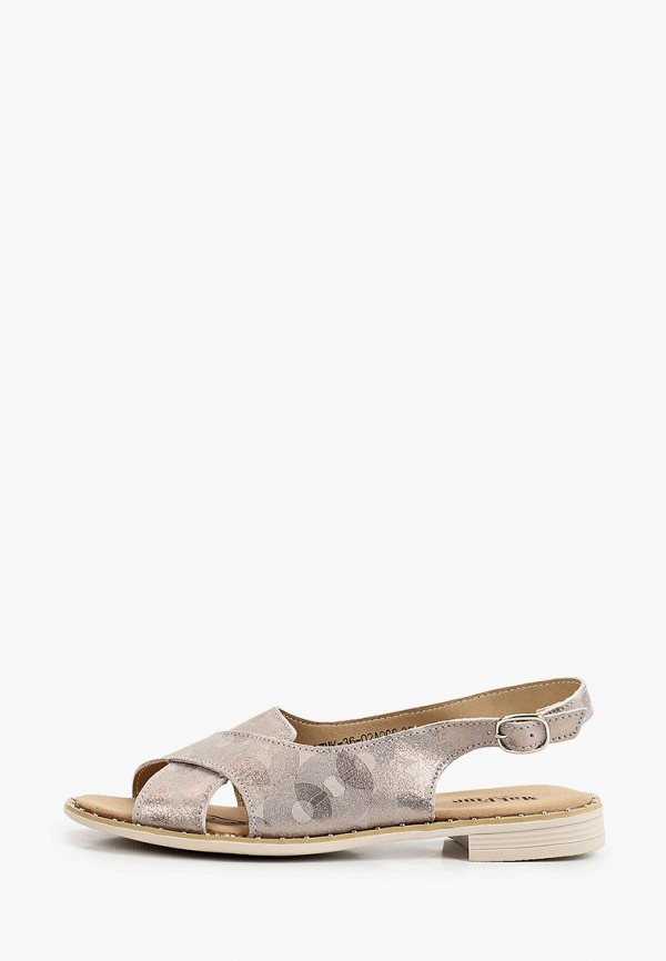 женские сандалии makfine, серые