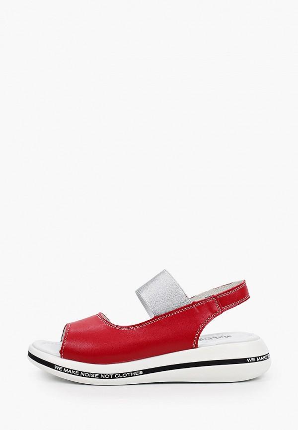 женские сандалии makfine, красные