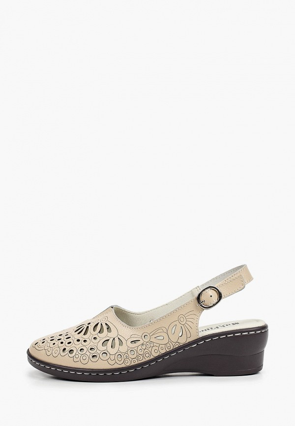 женские туфли makfine, бежевые