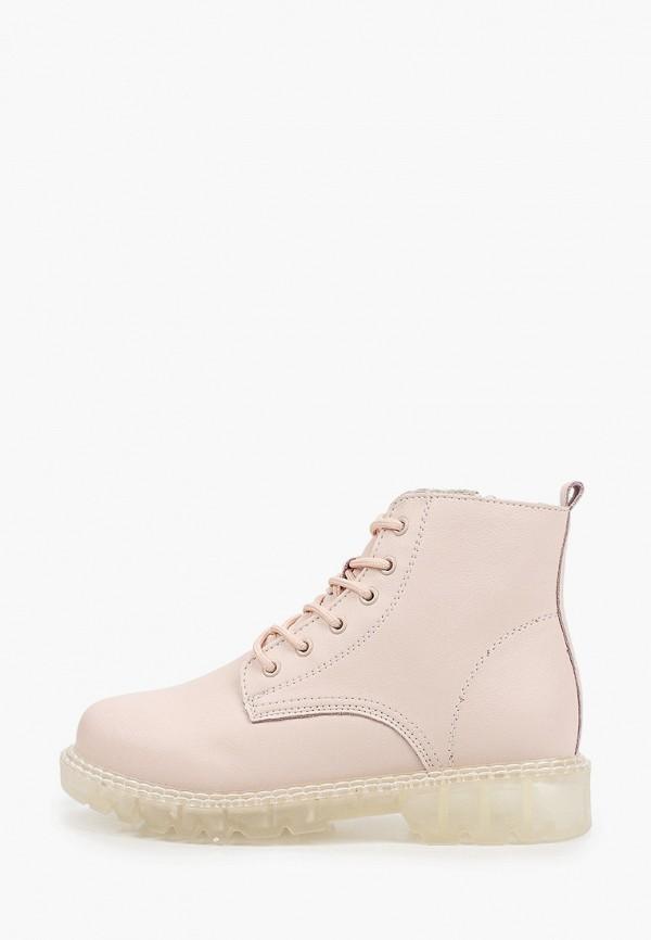 женские высокие ботинки makfine, розовые