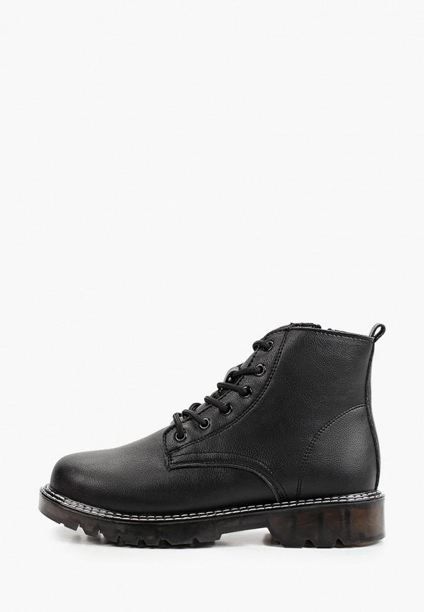 женские высокие ботинки makfine, черные