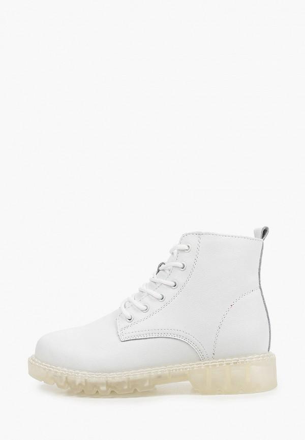 женские высокие ботинки makfine, белые