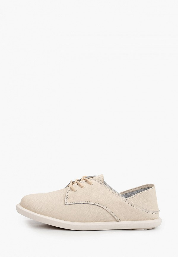 женские низкие ботинки makfine, бежевые