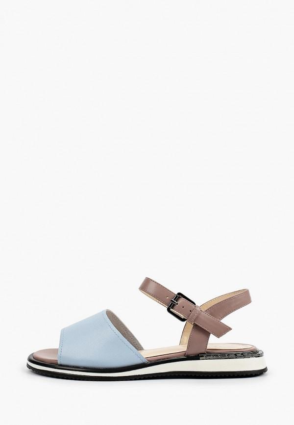 женские сандалии inario, голубые
