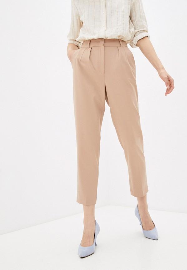 женские классические брюки lusio, бежевые