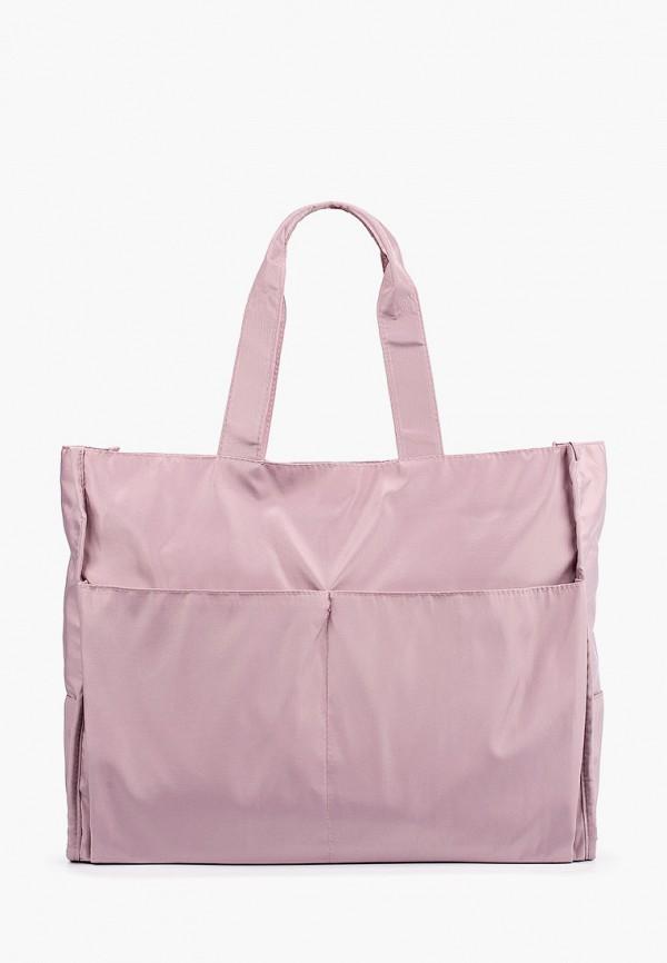 женская сумка-шоперы rosedena, розовая