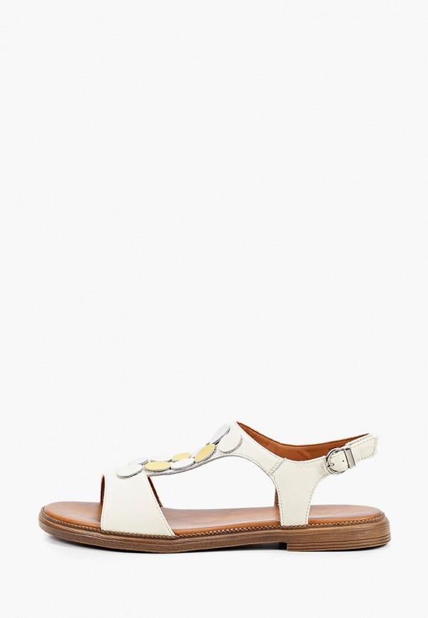 женские сандалии helena berger, бежевые