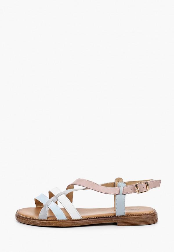 женские сандалии helena berger, разноцветные