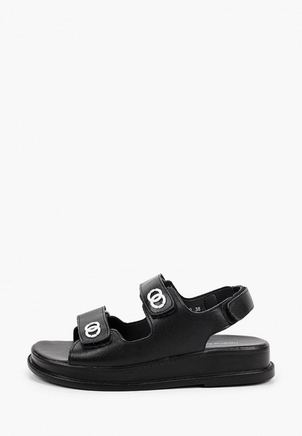 женские сандалии helena berger, черные