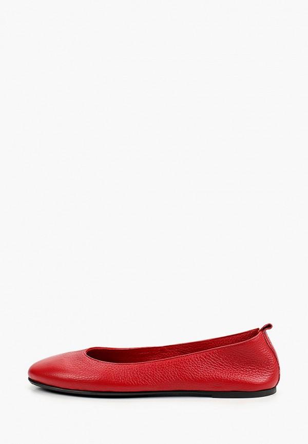 женские балетки marco bonne', красные